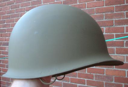 90th IDPG M1 Helmet Restoration