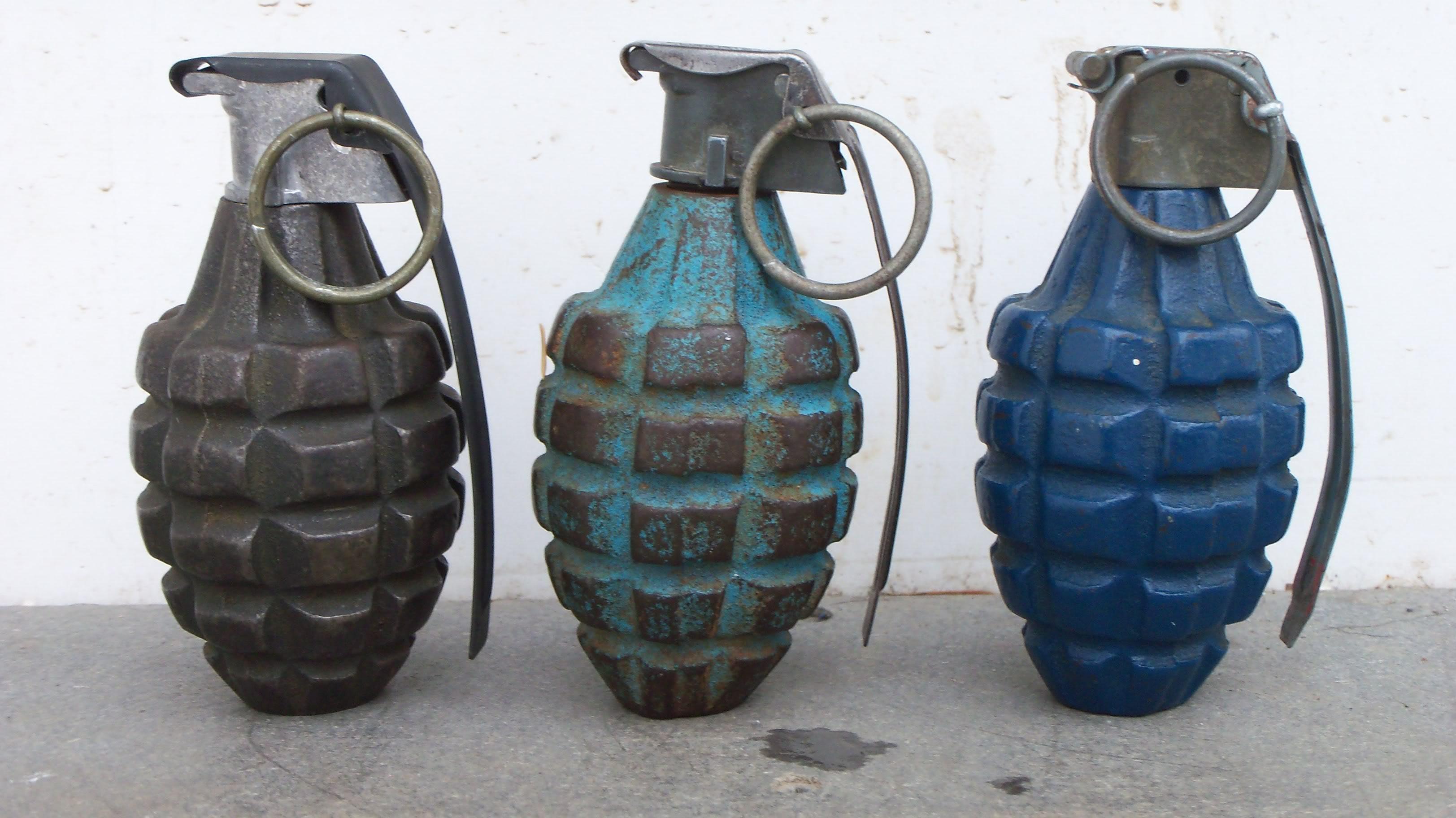 90th idpg mkii pineapple grenade restoration. Black Bedroom Furniture Sets. Home Design Ideas