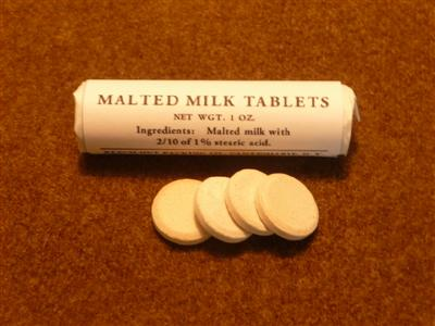 Horlicks malted milk tablets