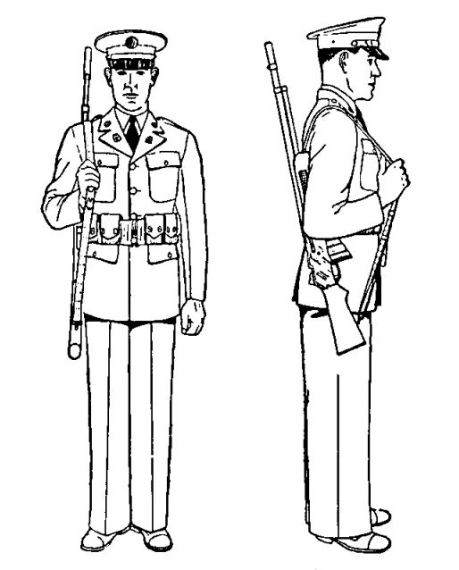 90th idpg manual of arms   beyond the rifle Manual of Arms Sword rifle drill manual of arms