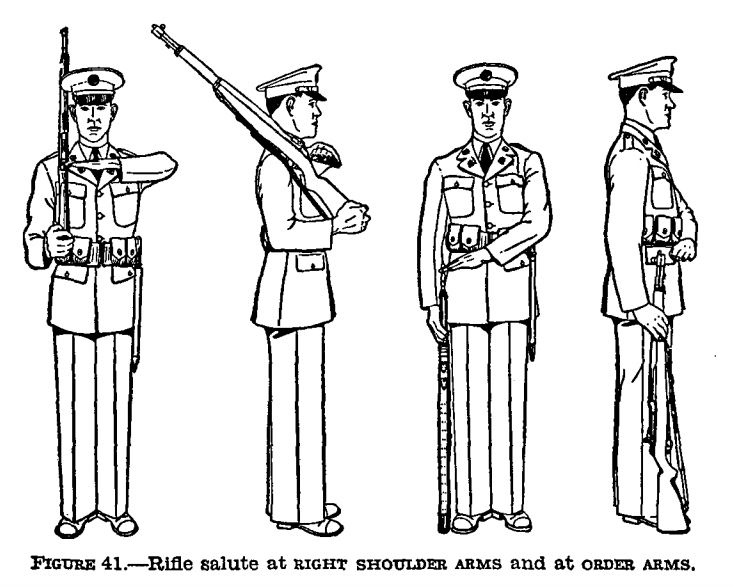 90th idpg manual of arms   beyond the rifle Manual of Arms Sword Manuals of Arms 16-Count